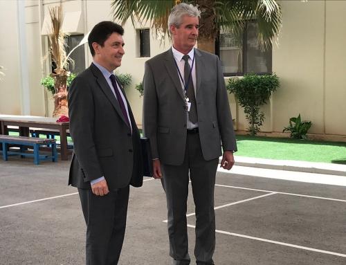 Visite de M. Olivier Cadic, Sénateur représentant les Français établis hors de France