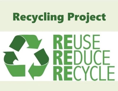 Recycling Project – Travail en anglais des CM2